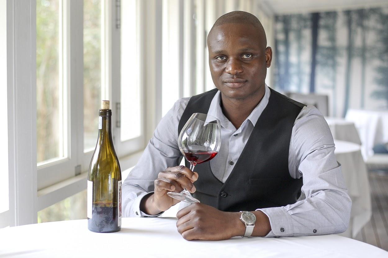 Mosi winemaker Joseph Dhafana