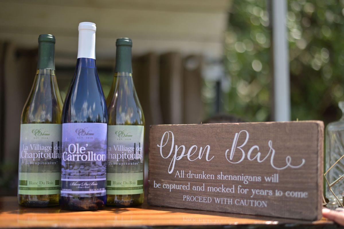 Ole' Orleans Wine Bottles