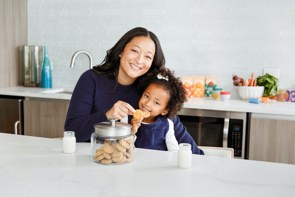 Partake Foods founder Denise Woodard and daughter