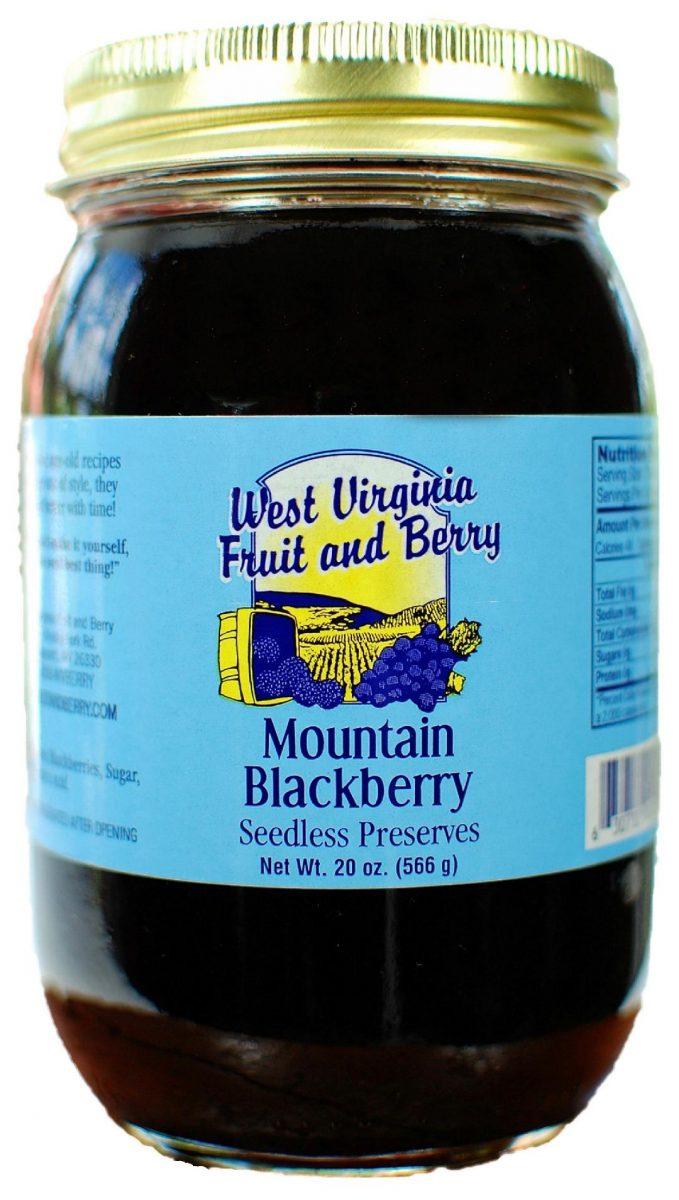 Mountain Blackberry Seedless Preserves