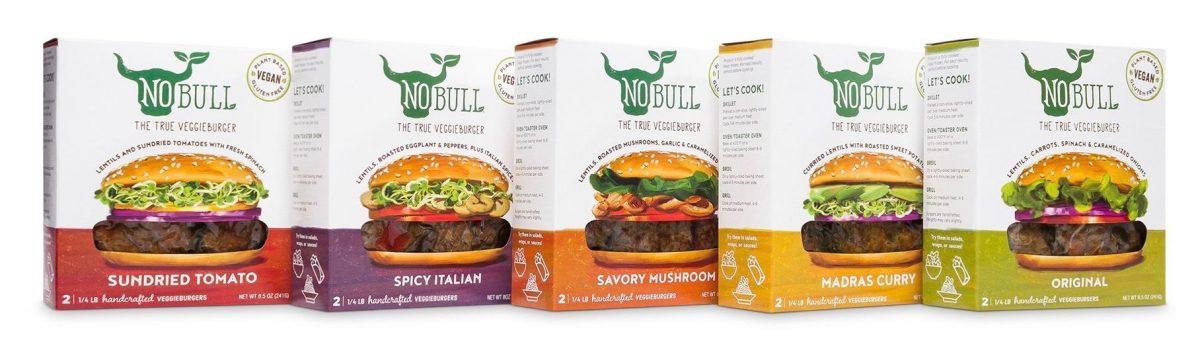 No Bull Veggie Burgers