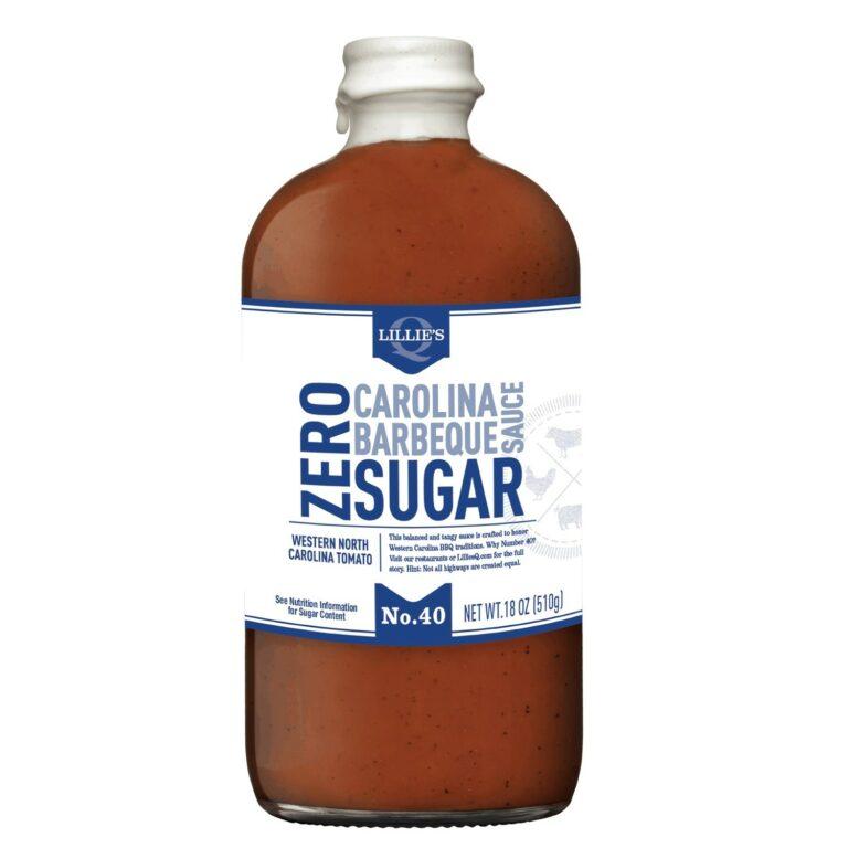 Lillies Carolina Zero Sugar Barbecue Sauce