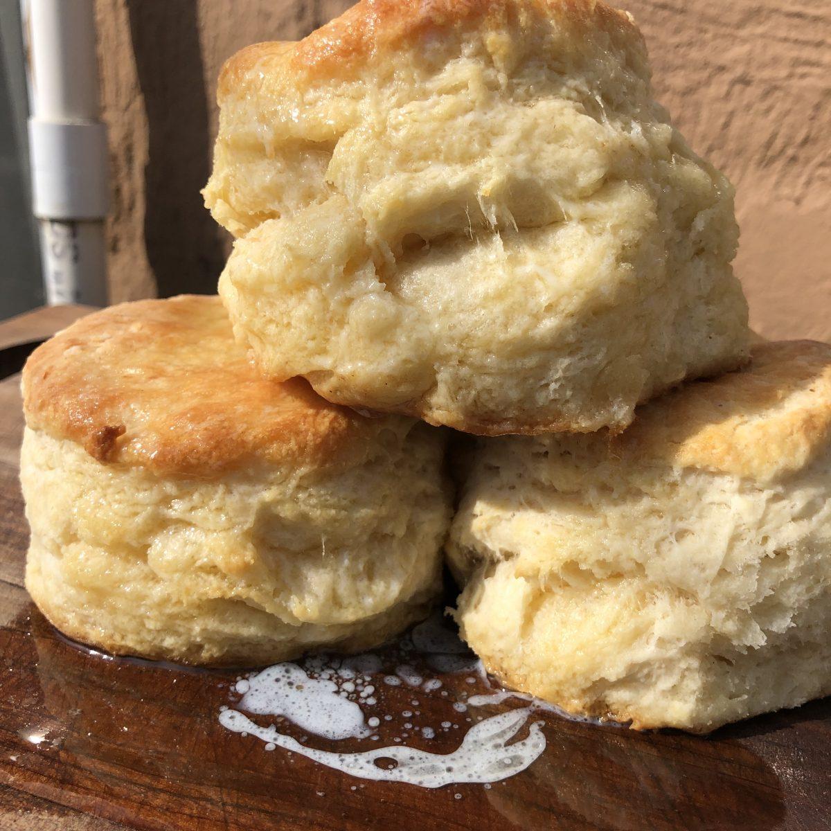 Buttermilk biscuits by Jumoke Jackson