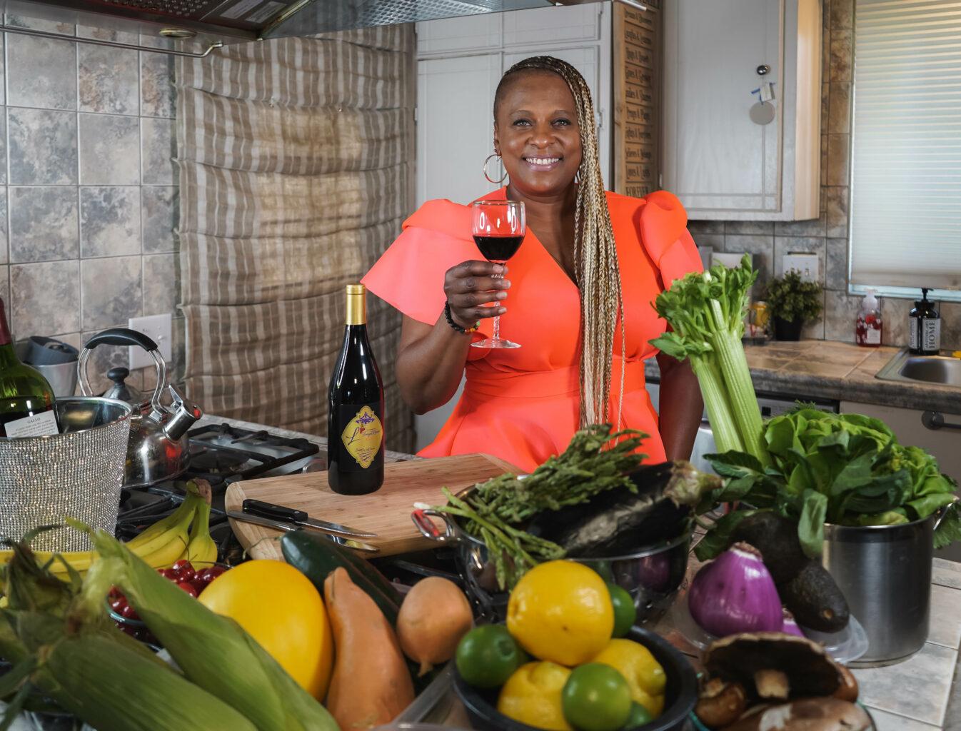 """Yolanda """"Yo-Yo"""" Whitaker in her kitchen"""
