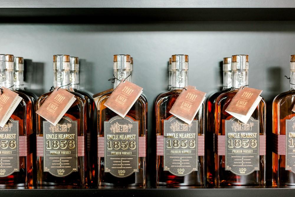 Uncle Nearest Whiskey bottles