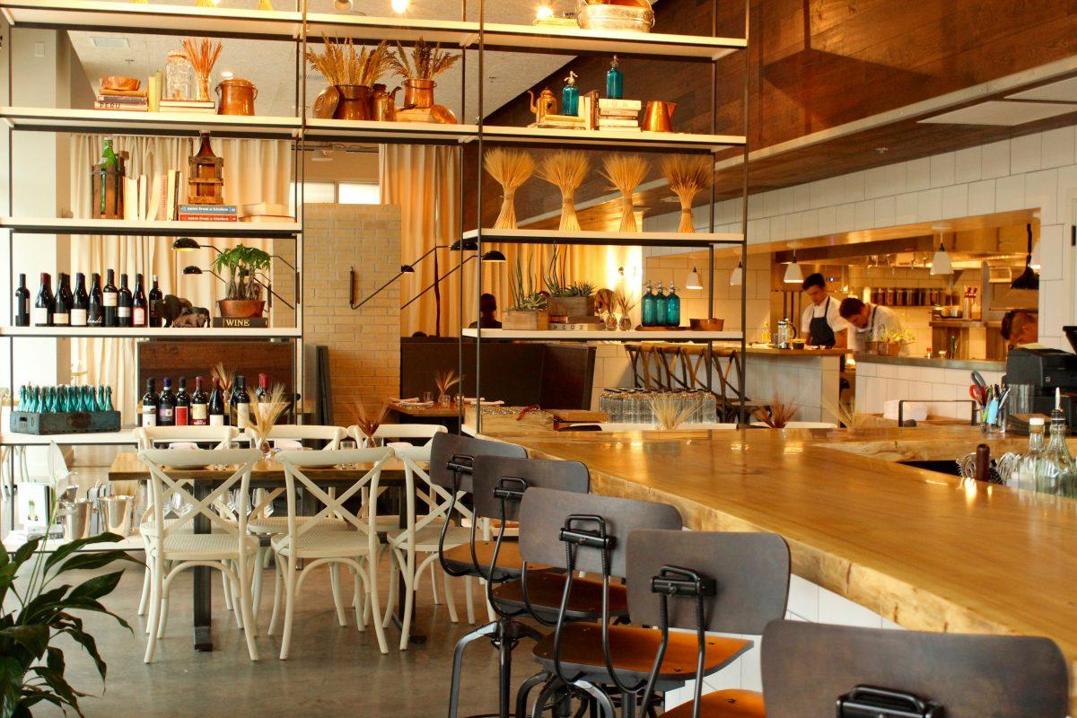 Emmer & Rye restaurant interior