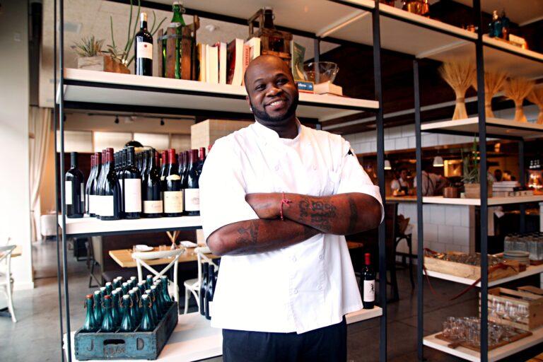 Pastry chef Tavel Bristol-Joseph