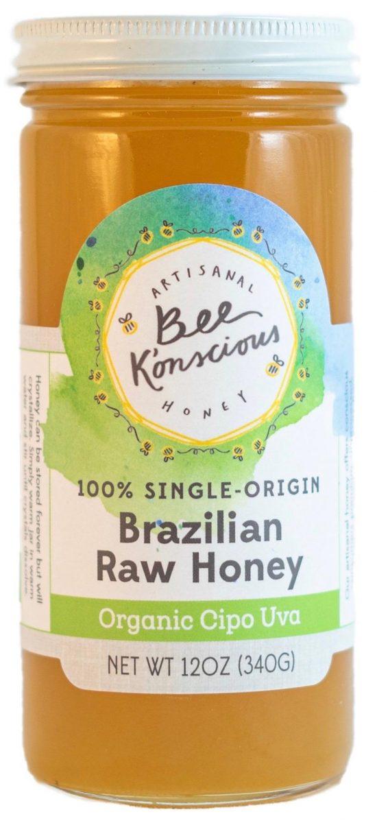 Bee K'onscious Brazilian Raw Honey