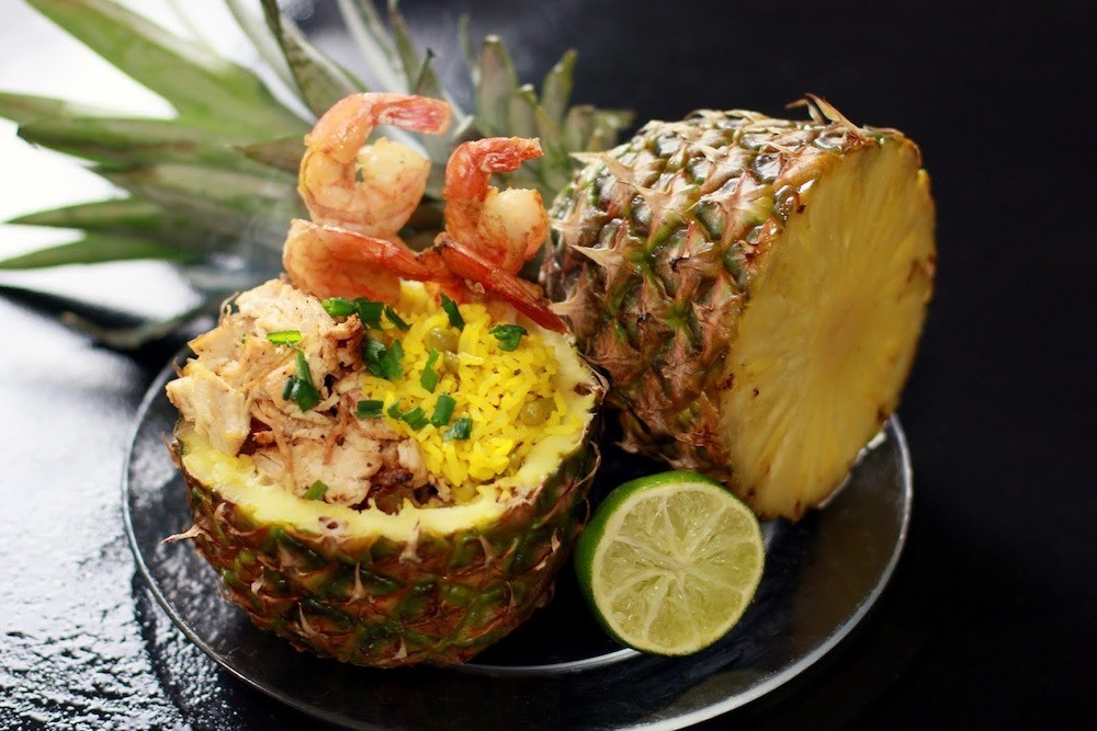 Pineapple shrimp and rice by Stevie Boi