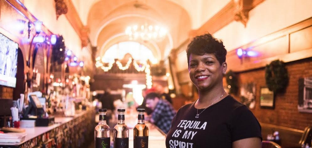 Co-founder Nayana Ferguson of Anteel Tequila