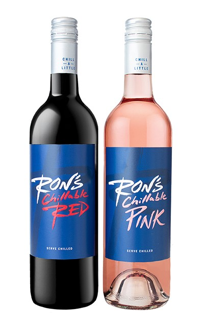 Ron's Chillable Red and Chillable Pink Wines