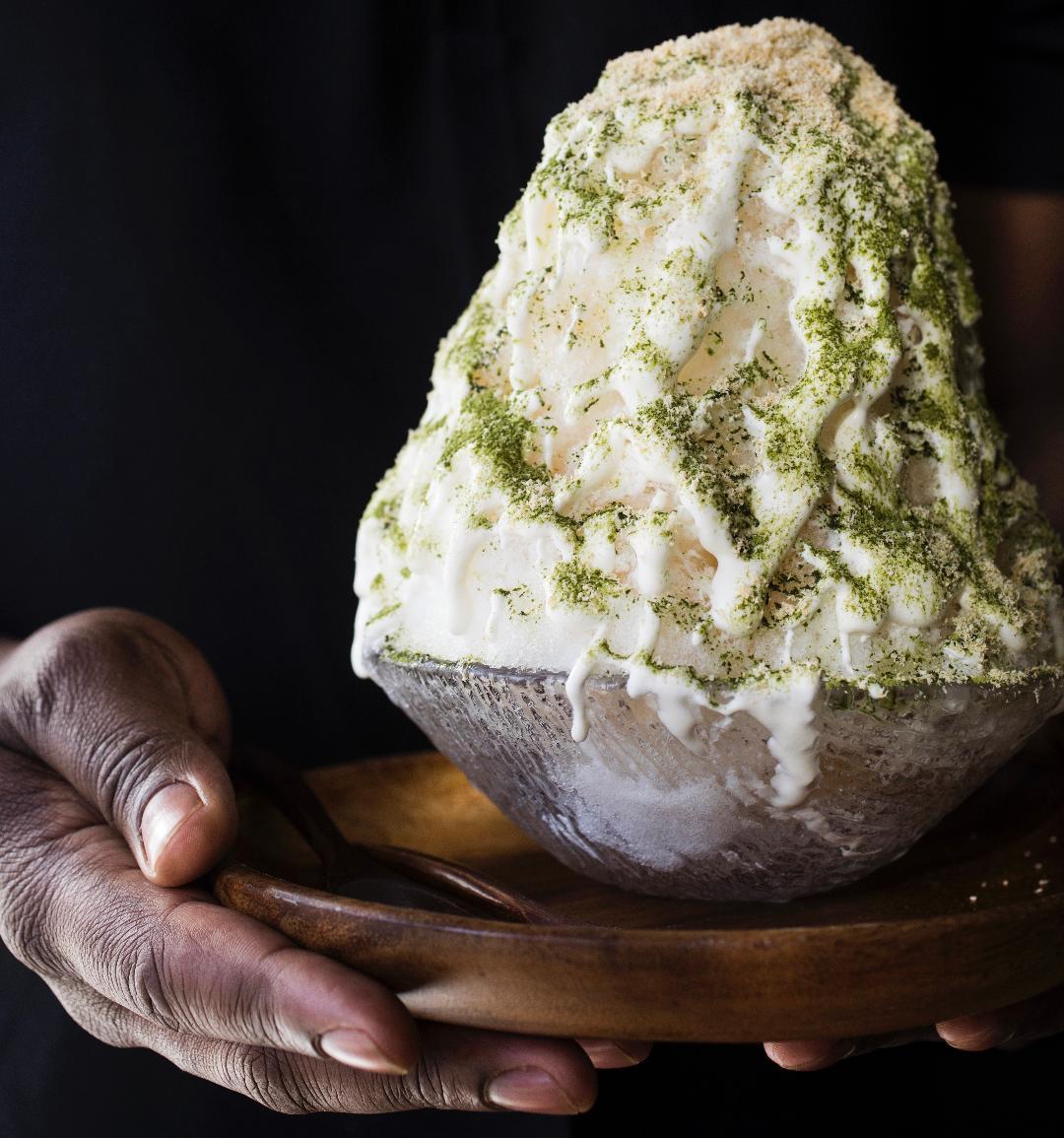Tall creamy dessert by Tavel Bristol -Joseph