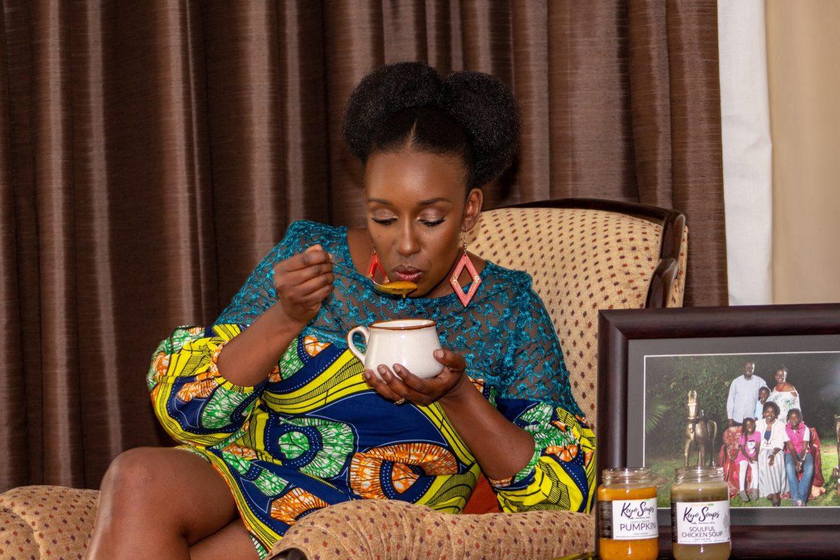 KabukiAnyumba, founder of Scrumptious Eats Kenya
