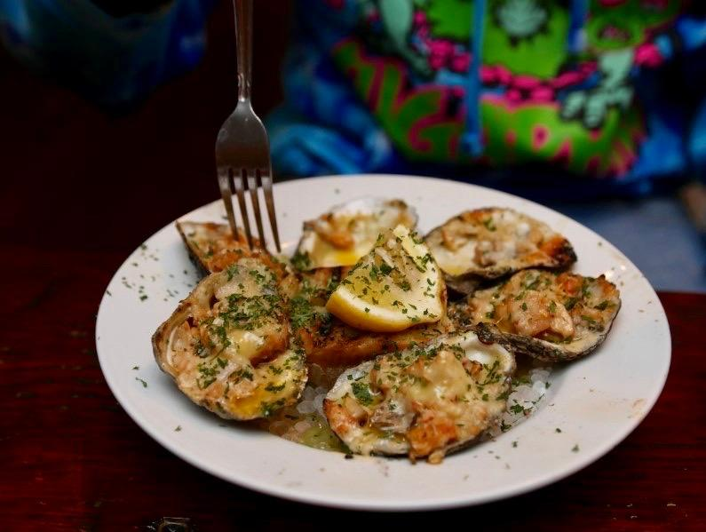 Charbroiled Oysters by Erica Bennett