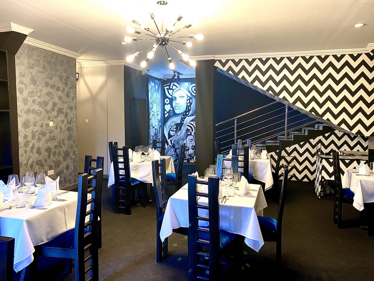 Interior view of GHastro by Chef Maame Boakye