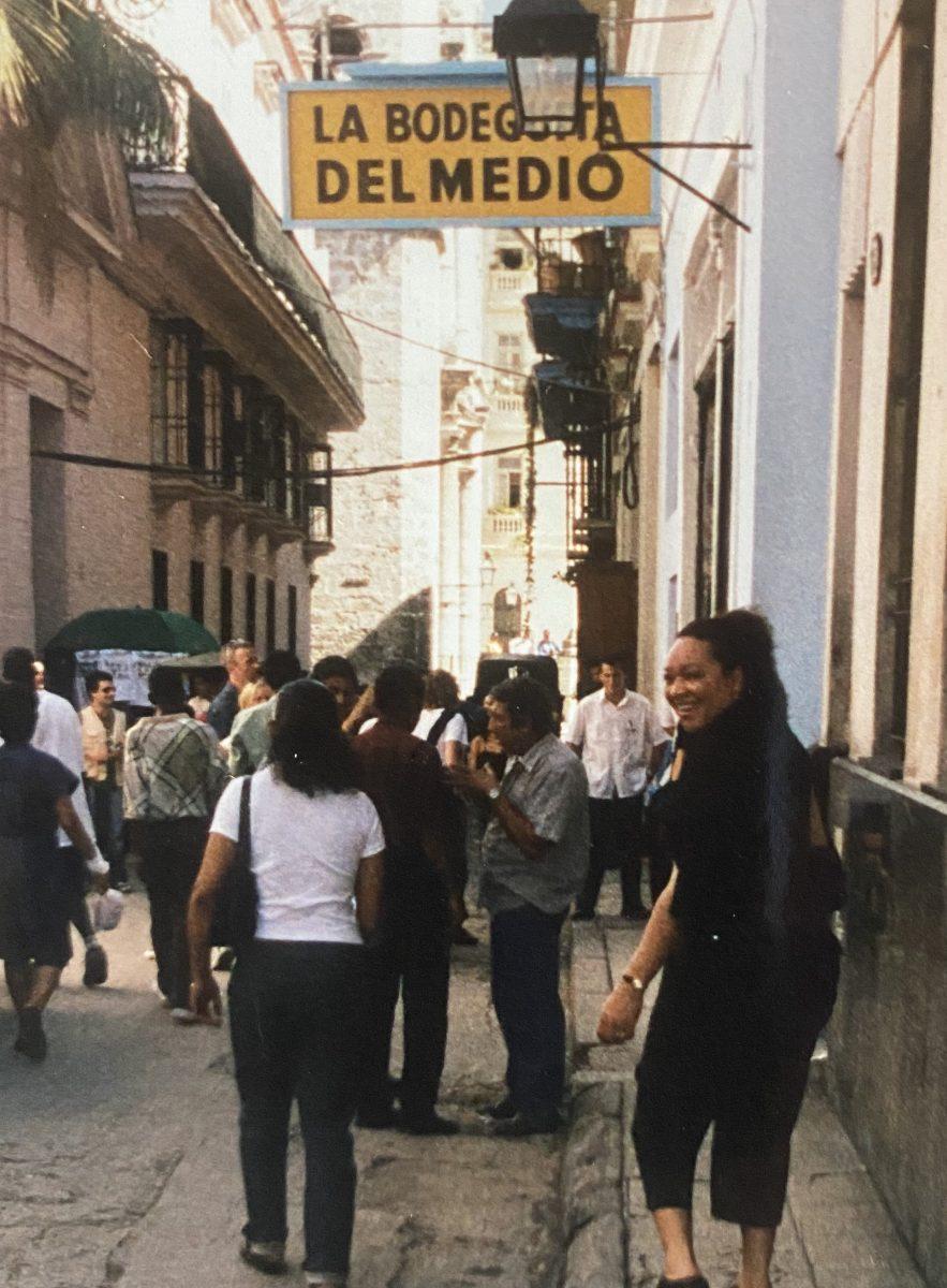 Tonia Chapple in Cuba