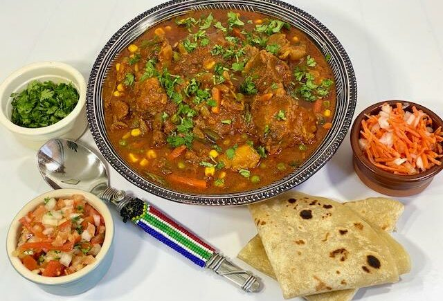 Lazy oxtail stew by Amwele's SA Kitchen