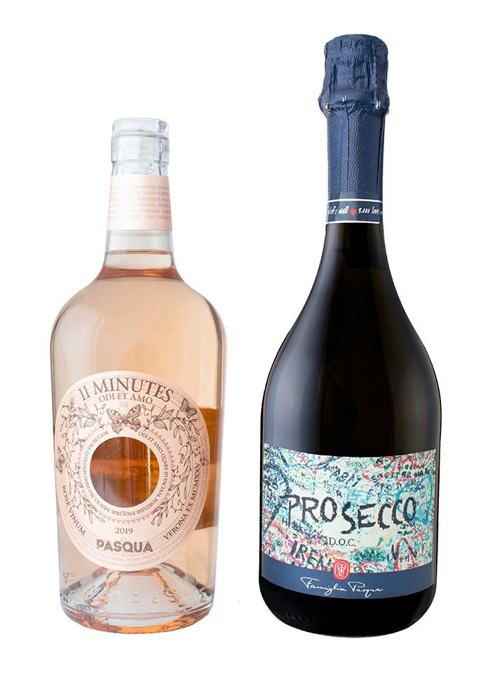 Pasqua Rose and Prosecco