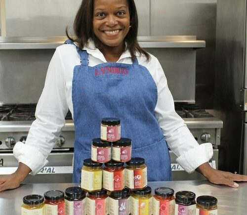 Celeste Croxton-Tate, CEO and founder of Lyndigo Spice