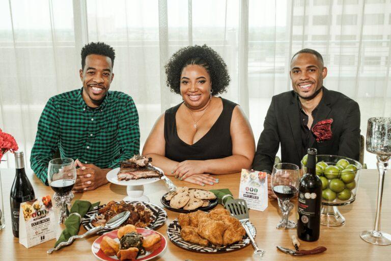 Black Restaurant Week co-founders Derek Robinson, Falayn Ferrell and Warren Luckett