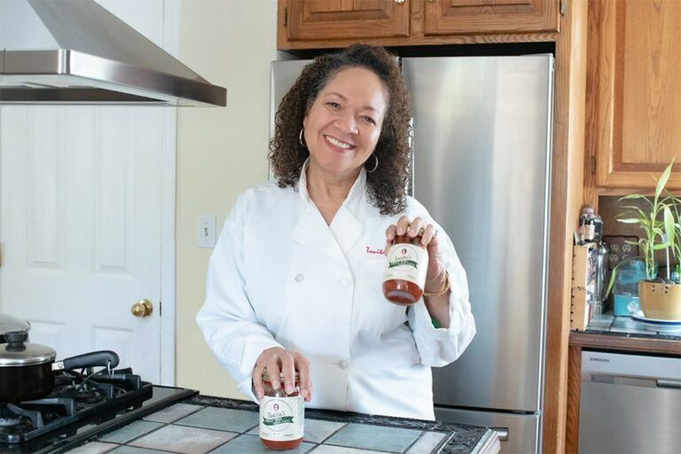 Tonia Chapple of Tonita's Kitchen
