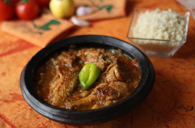 Ivorian dish kédjénou