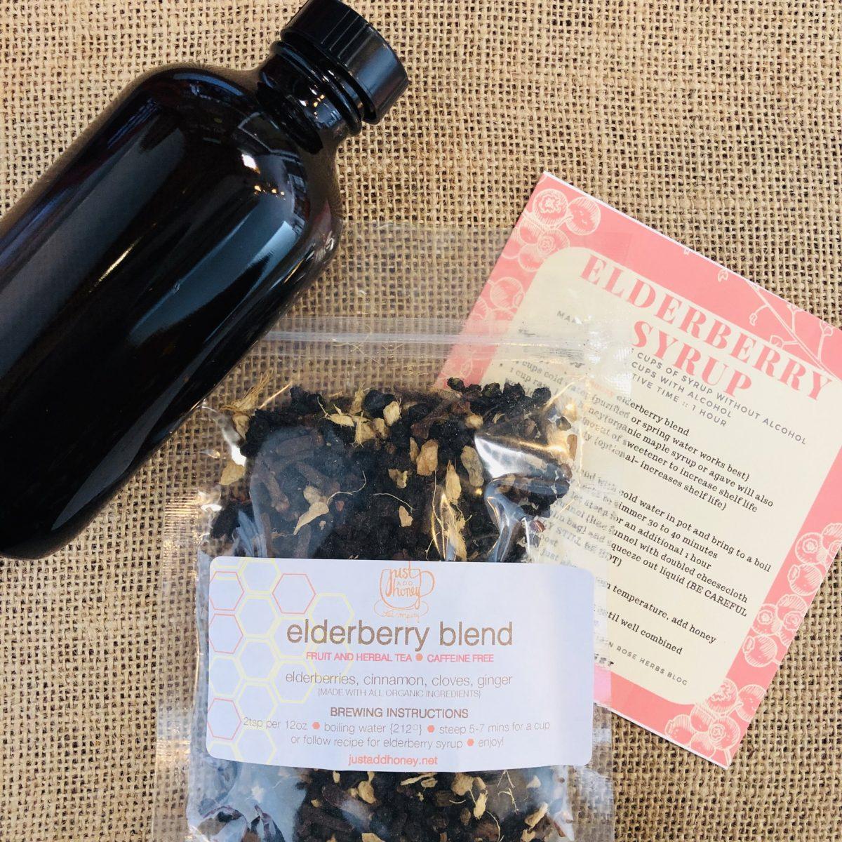 Just Add Honey, Elderberry Syrup Kit