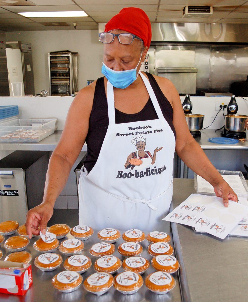 Cynthia Cain of Booboo's Sweet Potato Pies