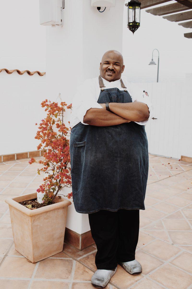 Executive chef Travis Watson of Hotel Californian