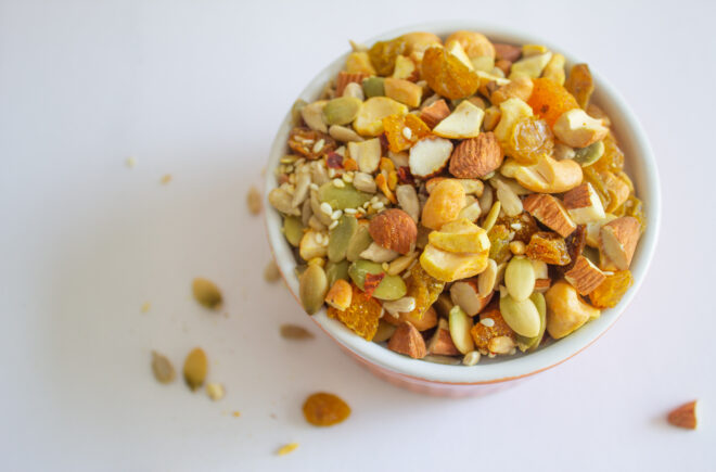 Curry Crunchy Trail Mix