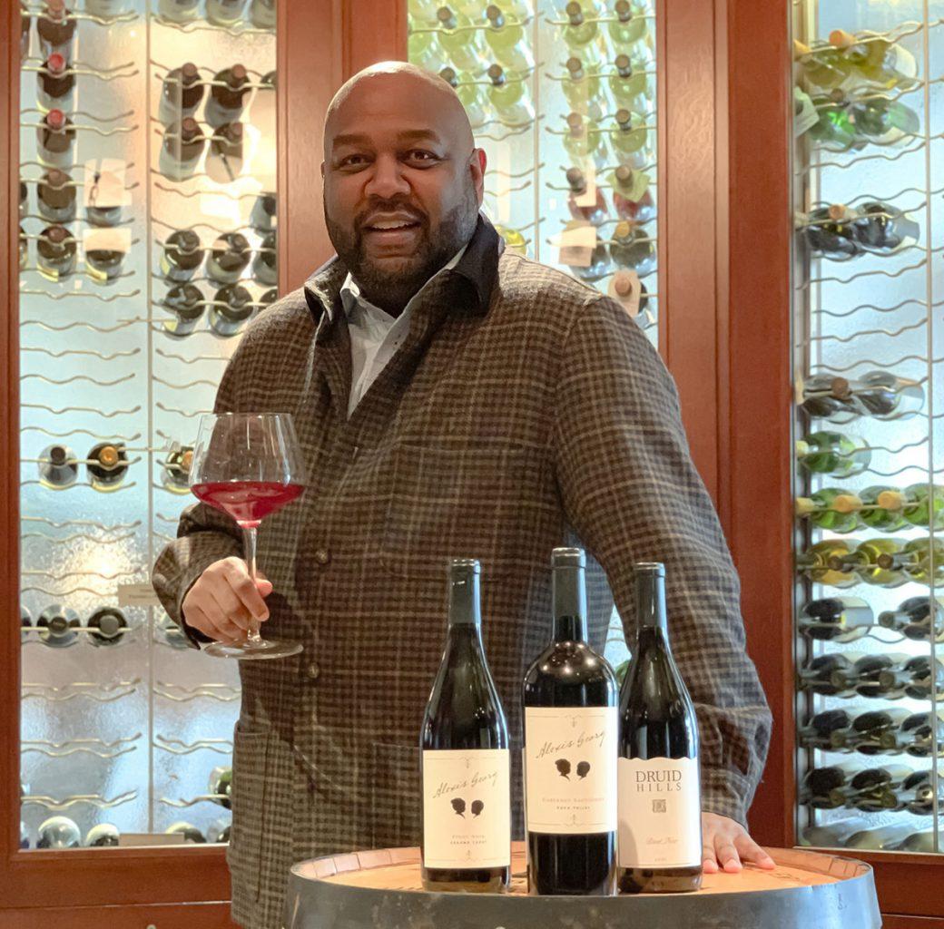 George Brown of Alexis George Wine Cellars