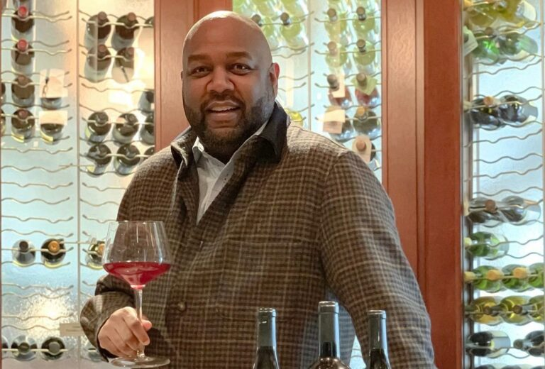 Winemaker George Brown