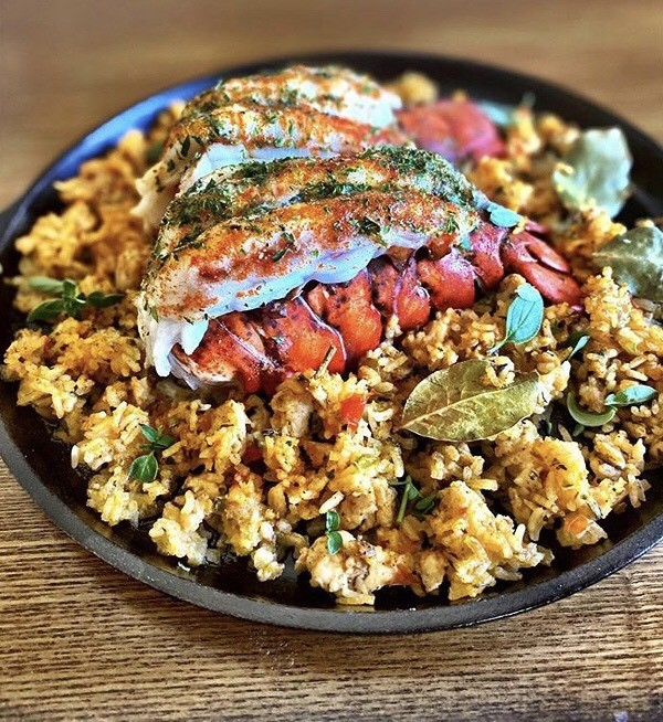 Dish by Chef Nik Fields