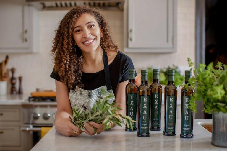 Skyler Mapes, owner of EXAU Olive Oil