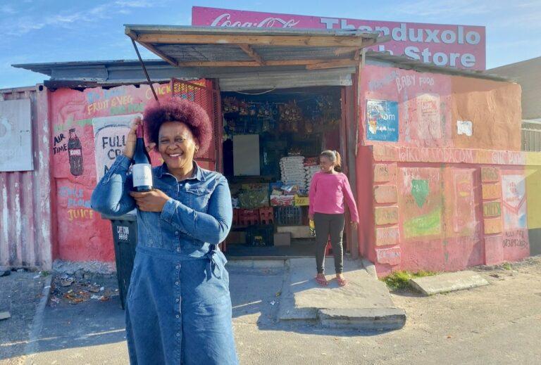 South African winemaker Nondumiso Pikashe