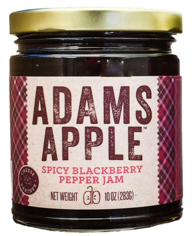 Adams Apple Spicy Blackberry Jam