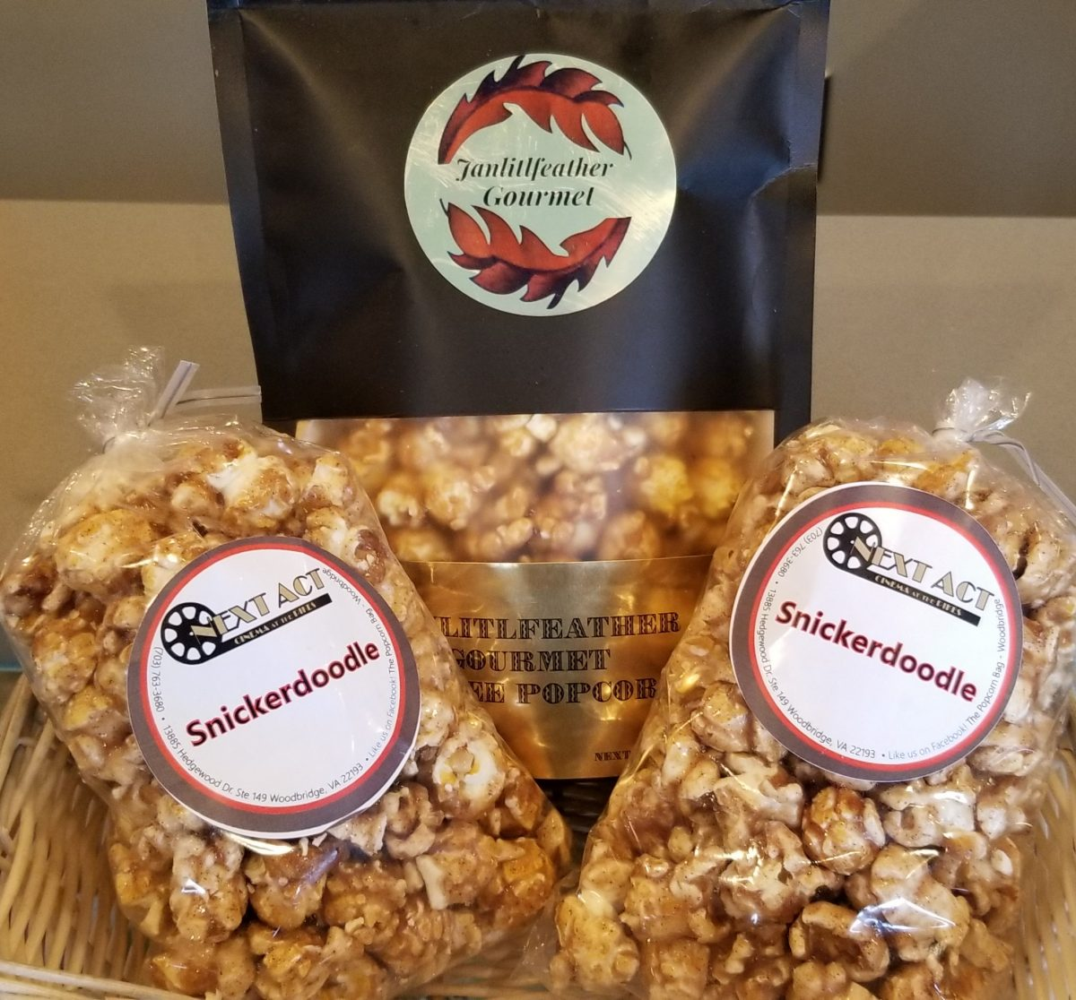 Snickerdoodle popcorn by Janlitlfeather Gourmet