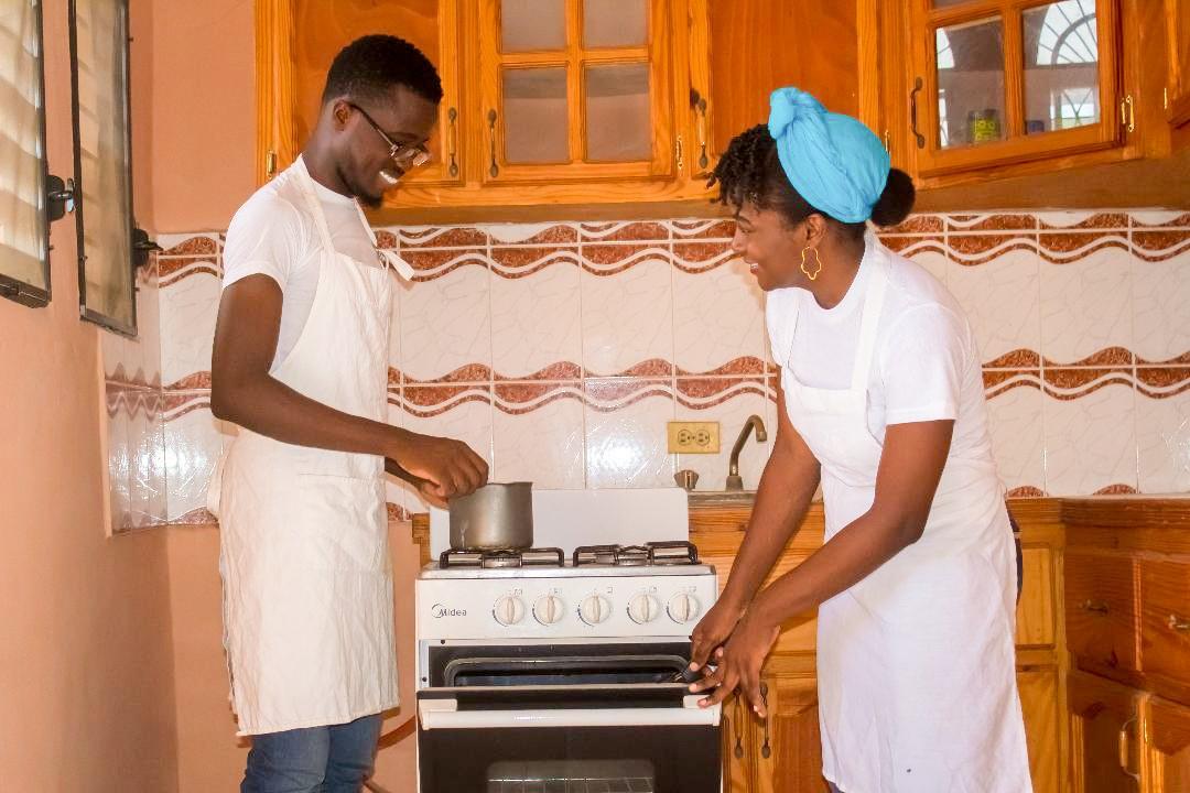 Rémy Monexant and Samentha Vixamar of Thamy's Kitchen