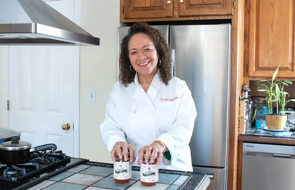 Tonia Chapple of Tonita's Sweet Vine Cuban Sauce