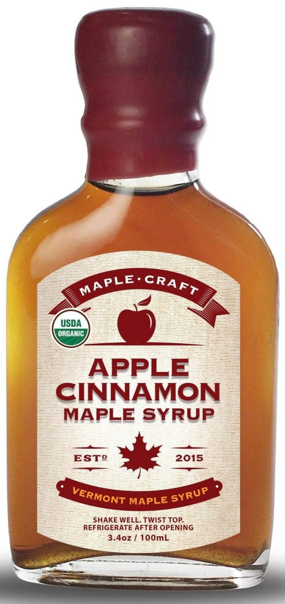 Maple Craft Syrup Apple Cinnamon Maple Syrup