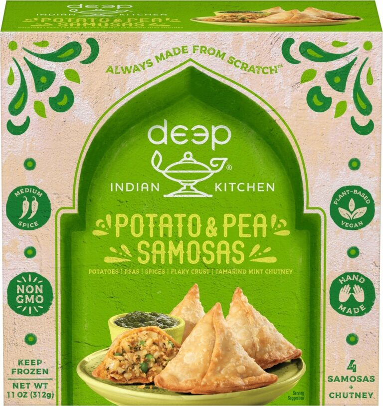Indian Kitchen Potato Pea Samosa