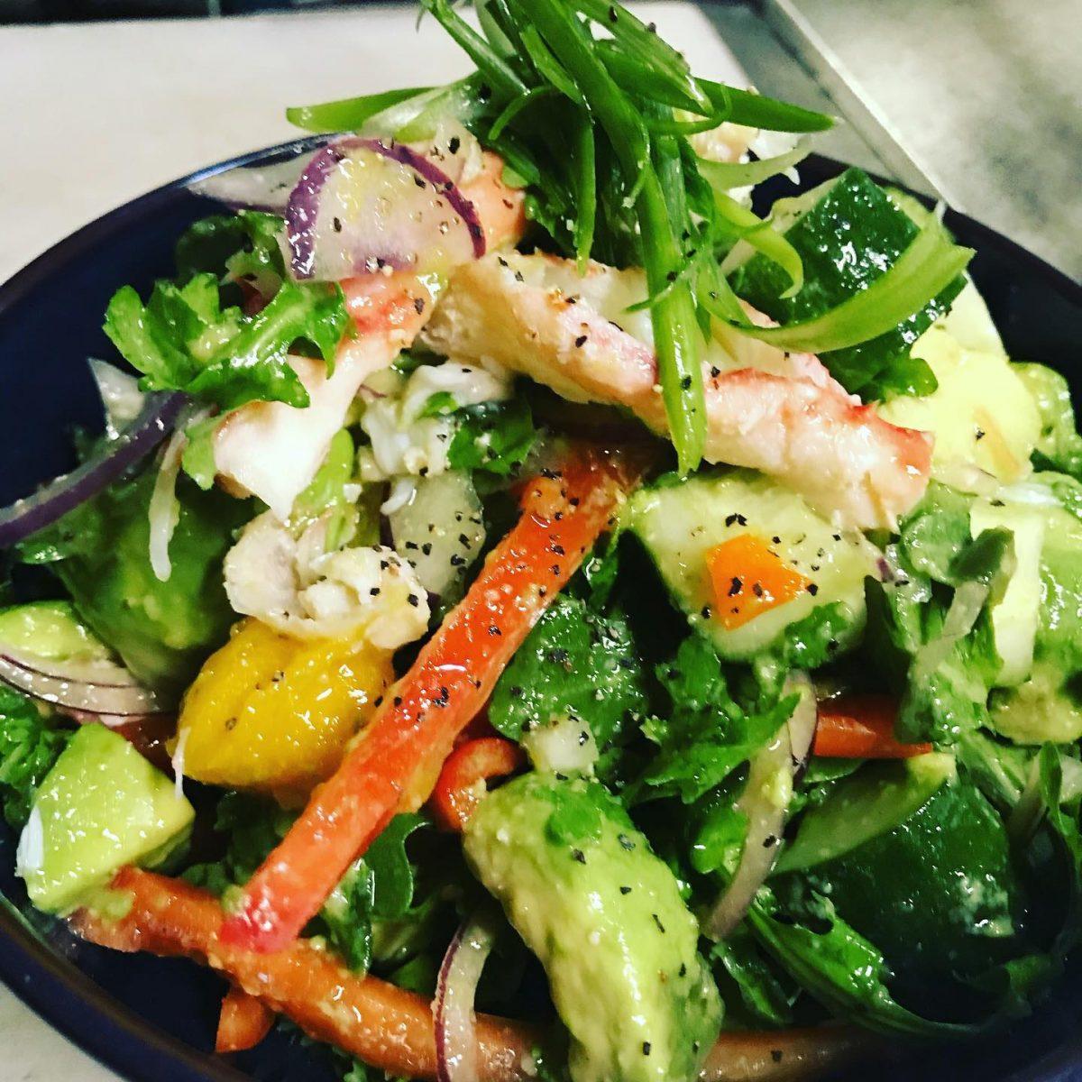 Jerk Shack salad