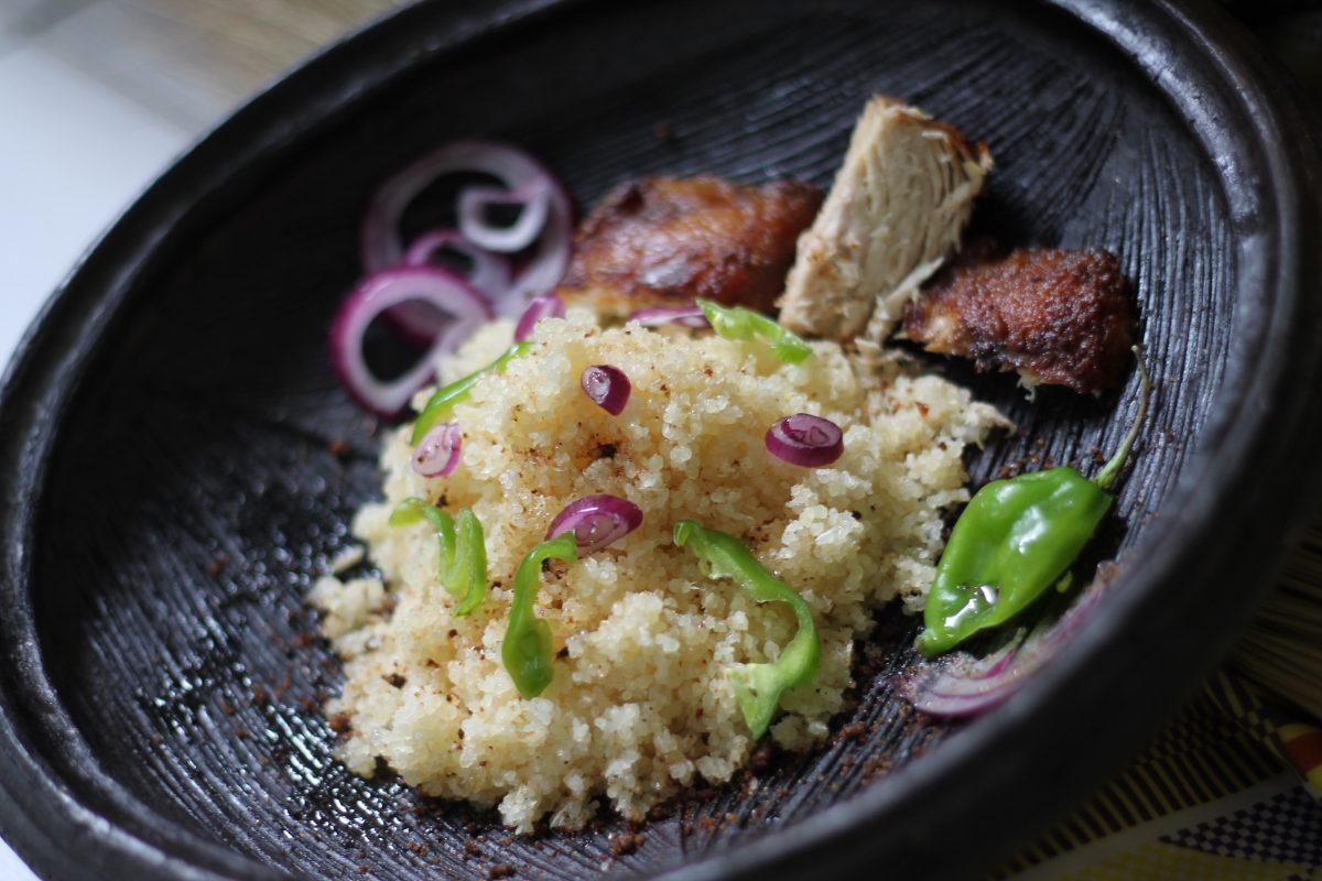 Food by Chef Paule-Odile Beke