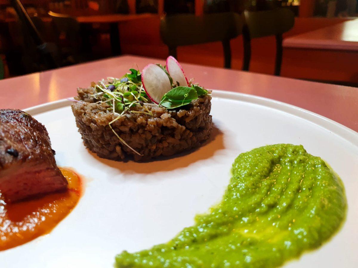 Dish by Chef Paule-Odile Beke