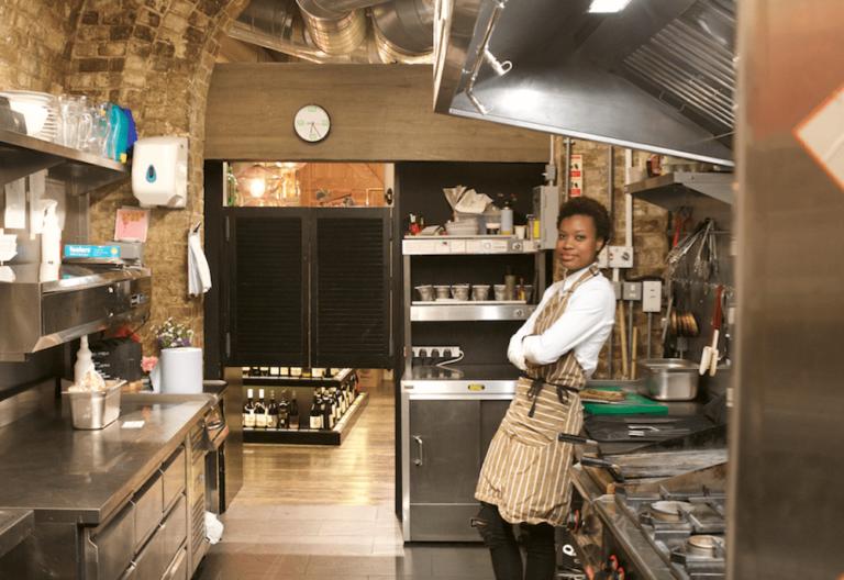 Chef Paule-Odile Beke
