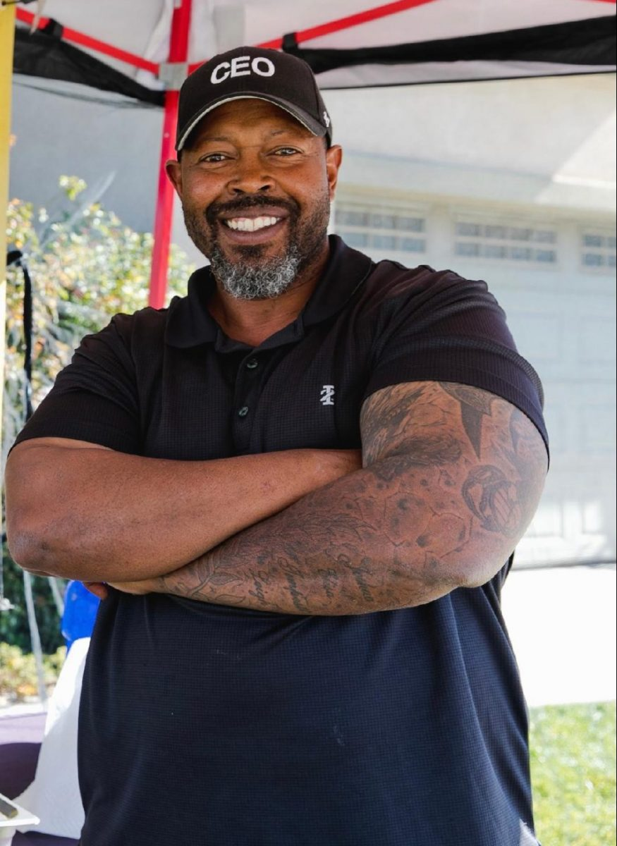 Achilles Murray, founder of J & T's Gourmet Sauces