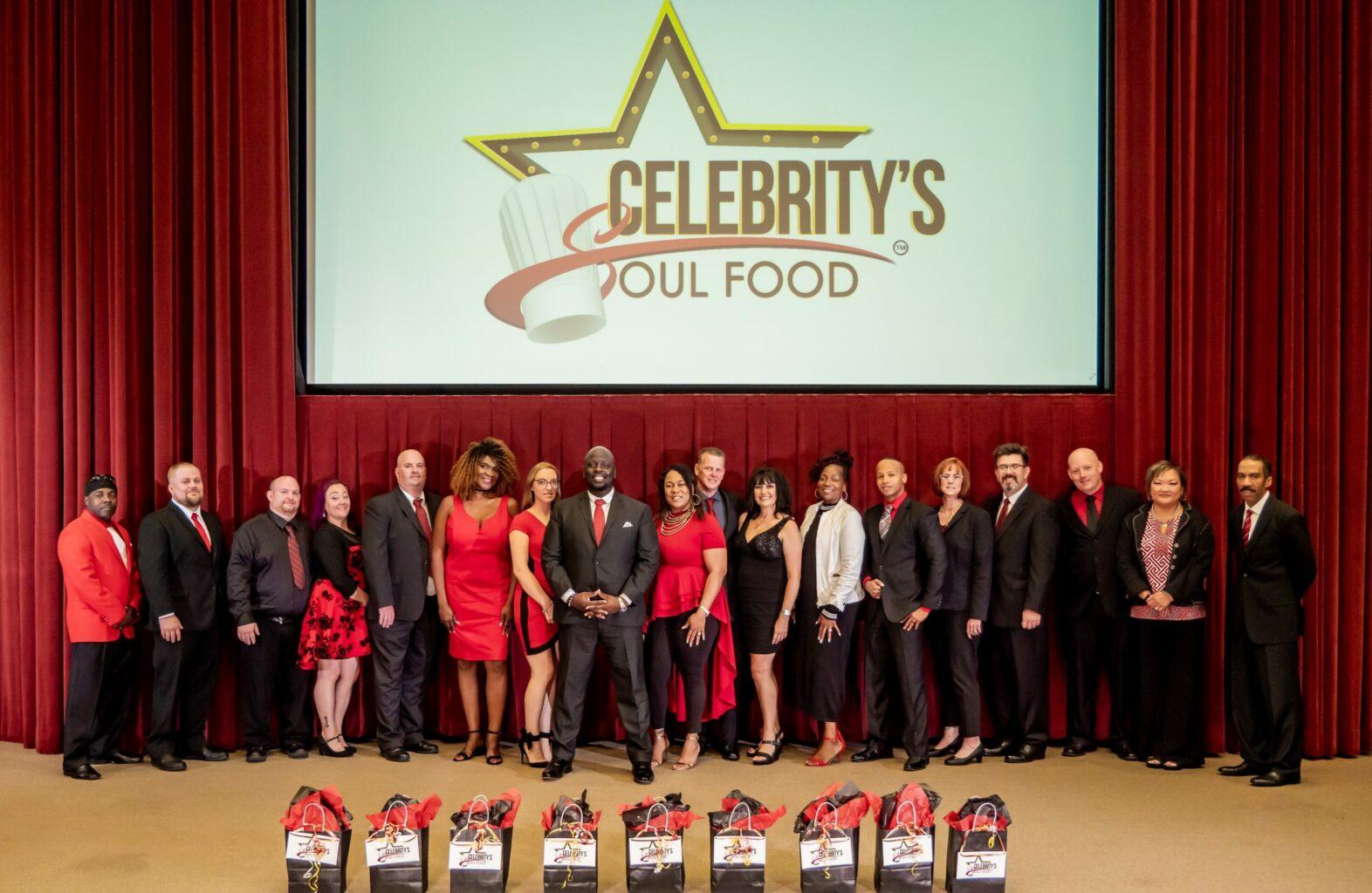Celebrity's Soul Food Walk of Fame Group