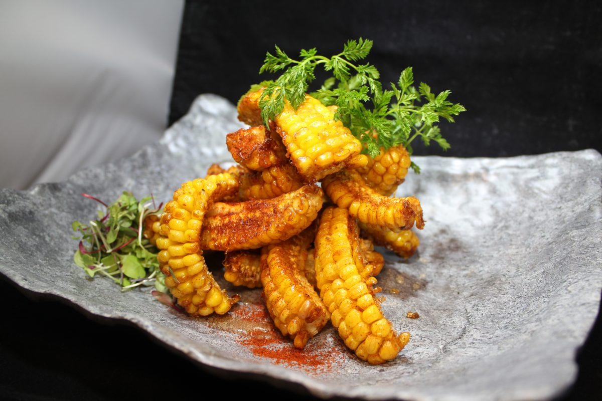 Celebrity's Soul Food Fried Corn Ribs