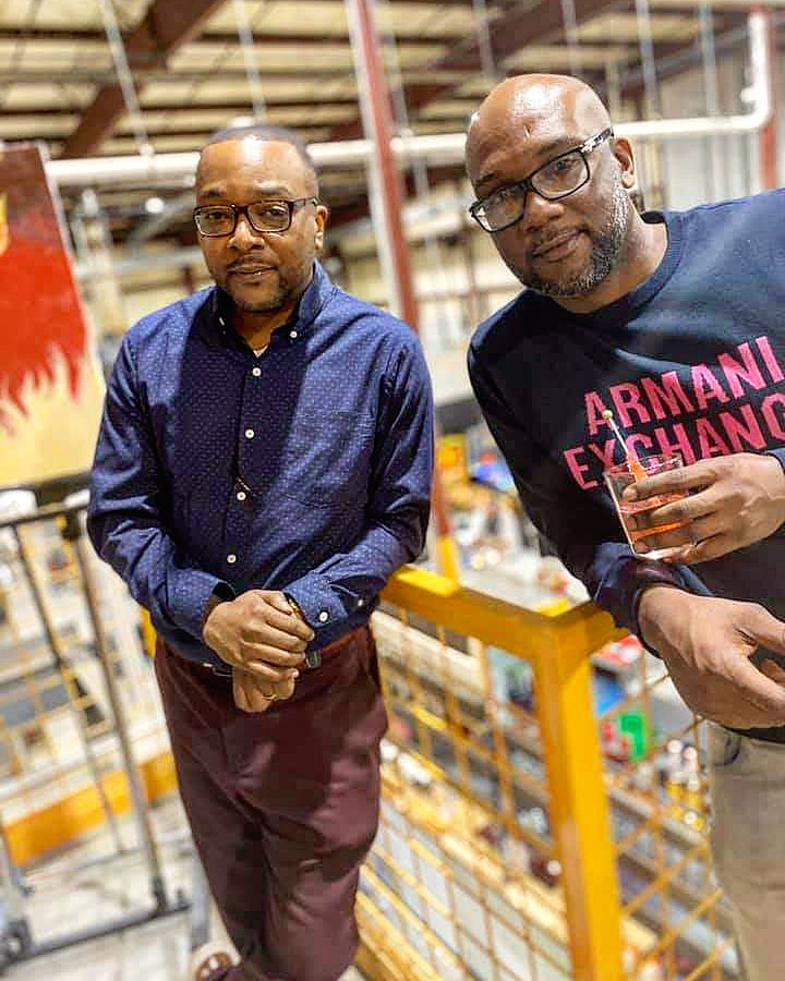 Kelvin Young and Djuan Ditto, founders of Legacy Wine and Spirits