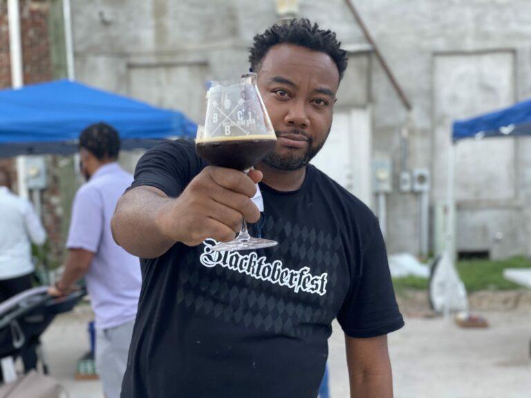 Blacktoberfest attendee